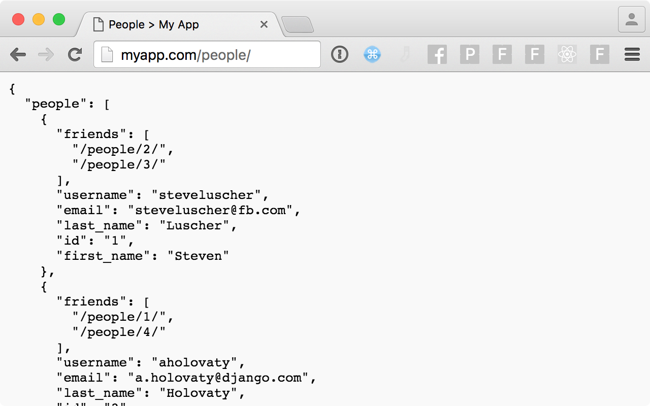 Identify examples of rest apis build your web projects with rest.